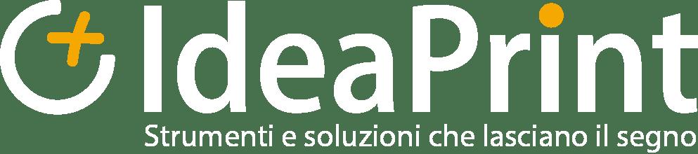Logo bianco IdeaPrint